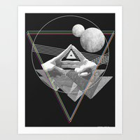 triforce Art Prints featuring Triforce by Bambi