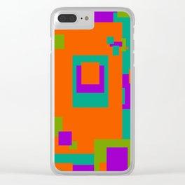 Herb, Berry, Pumpkin Decorative Design 2 Clear iPhone Case