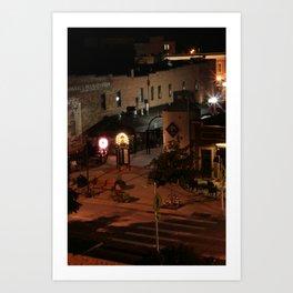 Bright Lights on Summer Nights Art Print