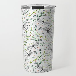 Dragonflies in the garden _II Travel Mug