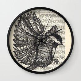 Wing It Wall Clock