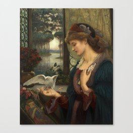 Love's Messenger Canvas Print