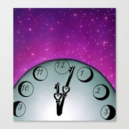 Guardian of Space and Time Canvas Print
