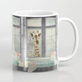 Bay Window Giraffe Coffee Mug