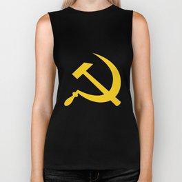 Hammer and Sickle USSR Communist Biker Tank