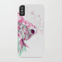 Pisces Baby iPhone Case