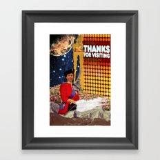 Thanks Framed Art Print