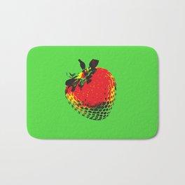 Strawberry Green - Posterized Bath Mat
