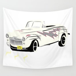 Grease Lightning! Wall Tapestry