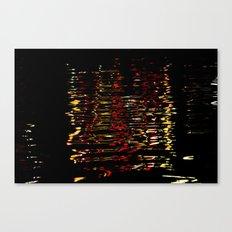 River Lights Canvas Print