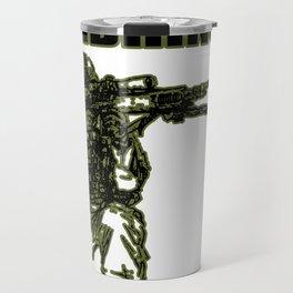 Soldier wit Funny saying Bundeswehr gift Travel Mug