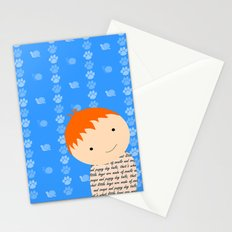 Snails and Puppy Dog Tails Stationery Cards