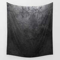 concrete Wall Tapestries featuring CONCRETE by Danielle Fedorshik