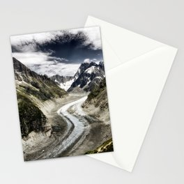 Mer de Glace Stationery Cards