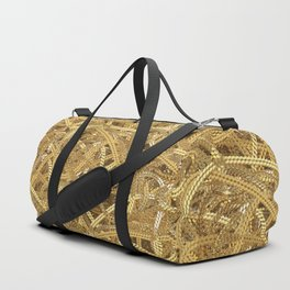 Full of gold chains Duffle Bag
