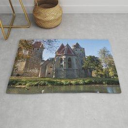 Phenomenally Romantic Fairytale Castle Schloss Pottendorf Austria Europe Ultra HD Rug