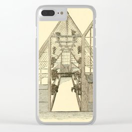 Antiquarian Greenhouse Clear iPhone Case