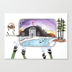 The Hands Canvas Print