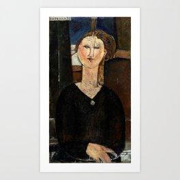 "Amedeo Modigliani ""Antonia"" Art Print"