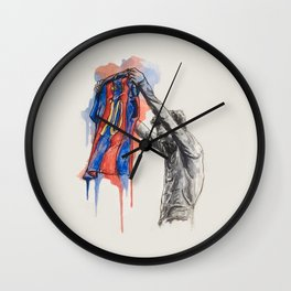 Messi Celebrats Wall Clock