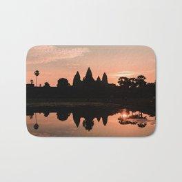 Sunrise - Angkor Wat II Bath Mat