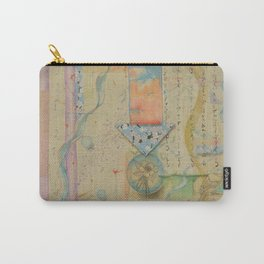 Nesting Columbine Carry-All Pouch