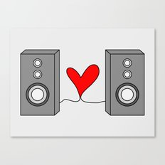 Music is all you need. Canvas Print