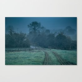 Ancient Pathway into the Misty Past Canvas Print