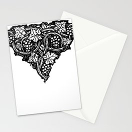 A Tailpiece of Grape Vines Stationery Cards