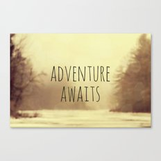 Adventure Awaits II Canvas Print