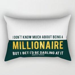 Millionaire Ms Parker Rectangular Pillow