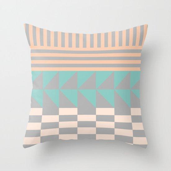 Opostos Throw Pillow