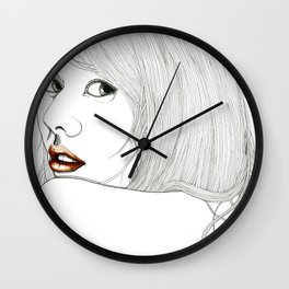 Curiously distant Wall Clock