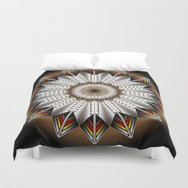 feather design duvet cover