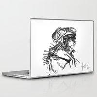 sandman Laptop & iPad Skins featuring Sandman by Jeanette Perlie