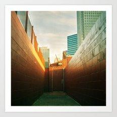 Doorway To Dallas Art Print