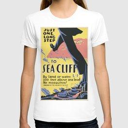 Vintage poster - Sea Cliff T-shirt