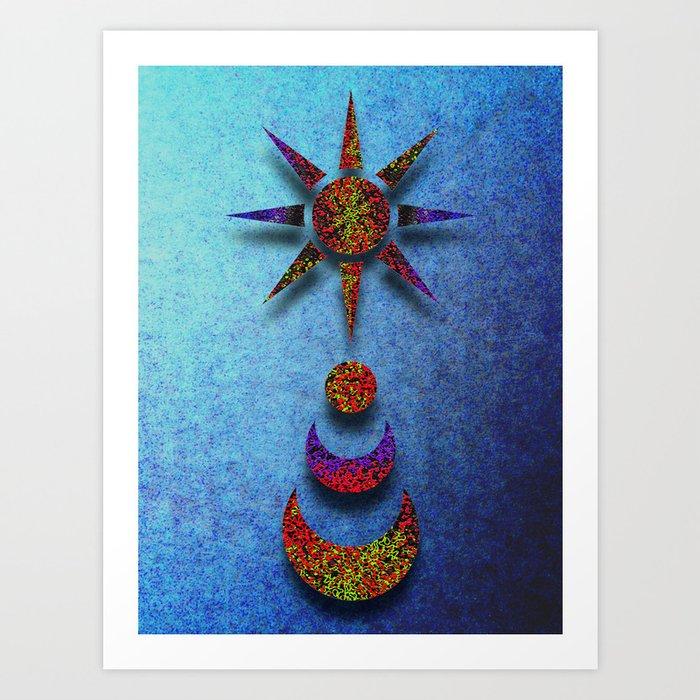 Celestial Singularity Art Print