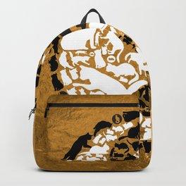Yin-Yang Cats - Gold Backpack