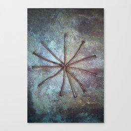 Circle of Nails Canvas Print