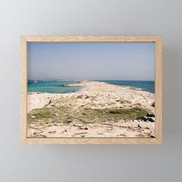 Platja des Trocadors, Formentera Framed Mini Art Print