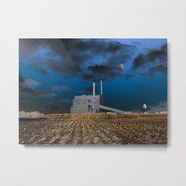 atmosphere · fabrication Metal Print