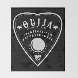 OUIJA PLANCHETTE Throw Blanket
