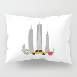 New York City, NYC Skyline Pillow Sham