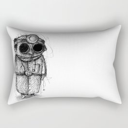 Dr. Death Rectangular Pillow