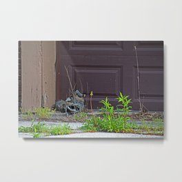 A Ghostly Silence Metal Print