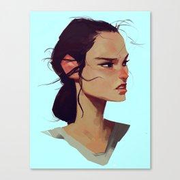 Rey Solo Canvas Print