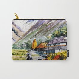 Long Walk By The Mountain Carry-All Pouch