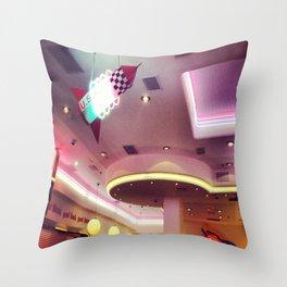 American 50's Throw Pillow