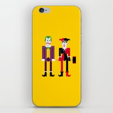 Joker and Harley Quinn iPhone & iPod Skin